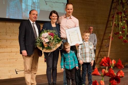Der dritte Platz ging an Familie Regula und Markus Hauenstein aus Endingen.